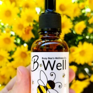 Busy Bee's B-Well is a powerful combo of CBD + CBDA oil made from organically grown Oregon full spectrum hemp