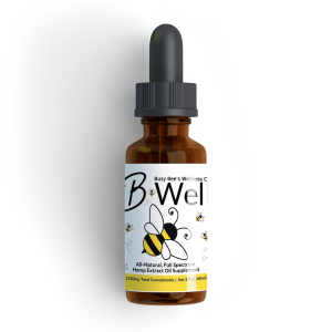 Busy Bee's CBD Hemp Oil B-Well Formula