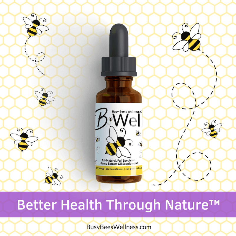 Better Health Through Nature with Busy Bee's CBD Hemp Oil