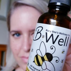 Busy Bee's B-Well CBD +CBDA Oil supports everyday health and wellness